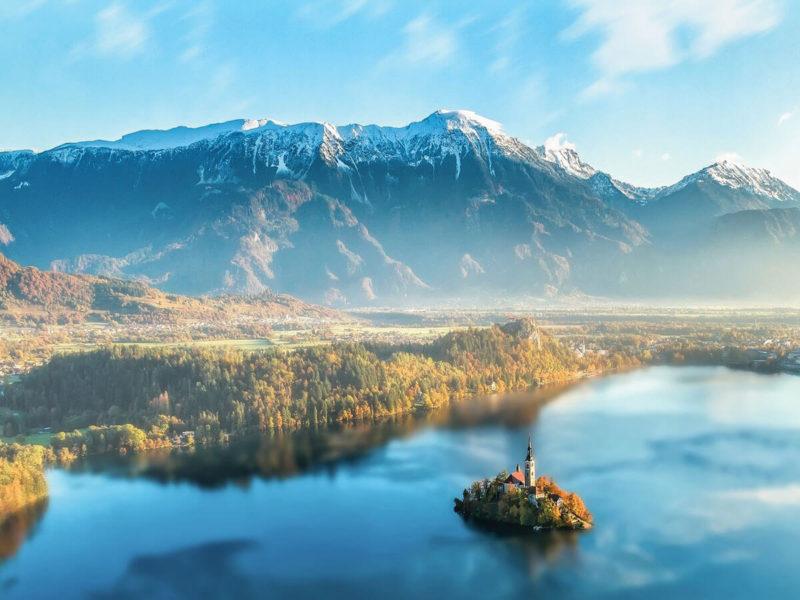117 - Slovenia e Croazia. La natura delle terre di confine